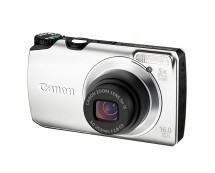 Silver Canon PowerShot A3300 16MP Camera
