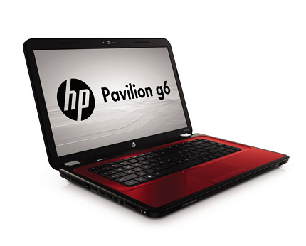 HP Pavilion G6 Red