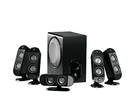 Logitech X-530 PC 5.1 Home Theatre Speakers