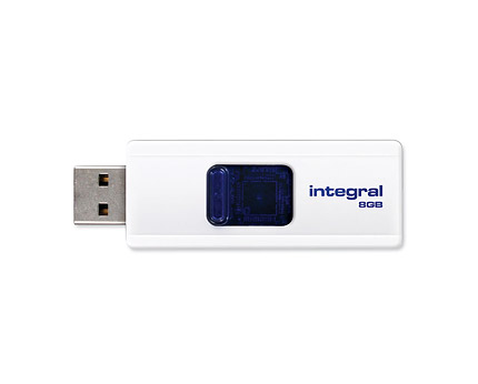Cheap Integral Slide 16GB USB2.0 Flash Drive