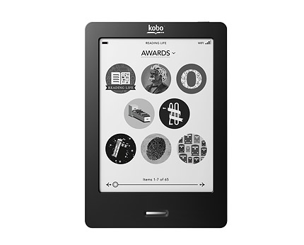 Clearance: Kobo Touch Wi-Fi eReader + Free Leather Case