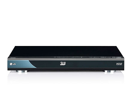LG HR600 3D Blu-ray Player with Freeview HD Tuner