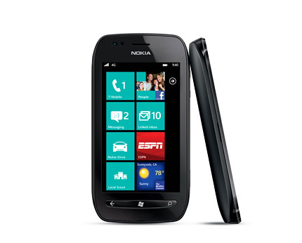 Lowest Price on Nokia Lumia 710, 3.7-inch, 1.4GHz, 512MB RAM, 8GB