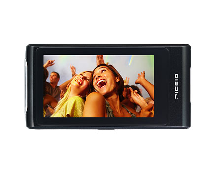 JVC Picsio GC-FM2 Full HD 5MP Pocket Camcorder