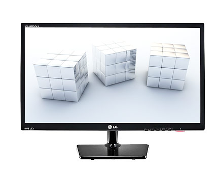 LG Full HD Widescreen Monitor