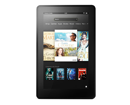 Kindle Fire 7-inch 1.2GHz Dual-Core, 1GB RAM, 8GB Tablet