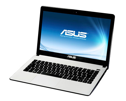 Asus X501A & X401A White Laptop