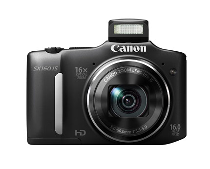 Canon SX160, 16MP Camera with 16x Optical Zoom