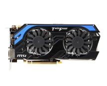 MSI GeForce GTX 660 Ti, 2GB, OC, Graphics Card