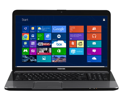 Toshiba L870, 17.3-inch, i5-3230M, 4GB RAM, 500GB, AMD HD 7670M 2GB